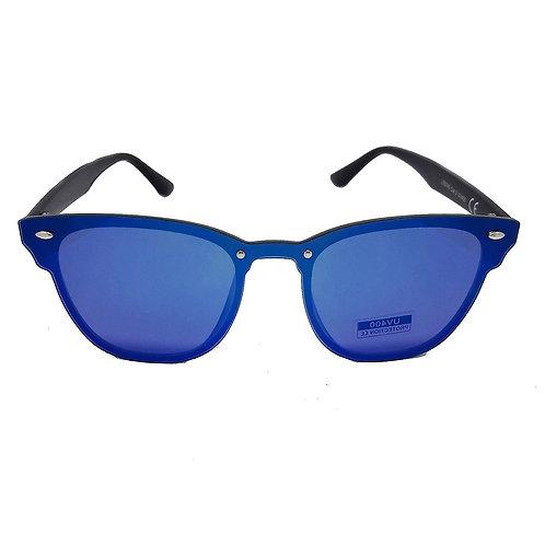 occhiali da sole uomo donna blaze tuttolente tuttalente senza montatura specchio specchiati blu 2018 urban loop