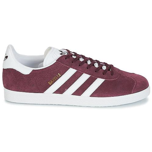 ADIDAS ORIGINALS - Sneakers GAZELLE - Bordeaux rosso scarpe sportive uomo donna urban loop