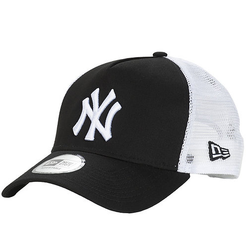 NEW ERA - CLEAN TRUCKER NEW YORK YANKEES - Cappello Nero / Bianco