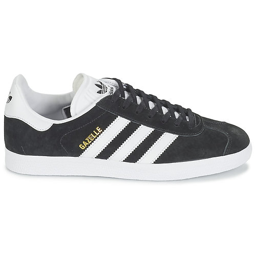 ADIDAS ORIGINALS - Sneakers GAZELLE Nero scarpe uomo donnasportive urban loop