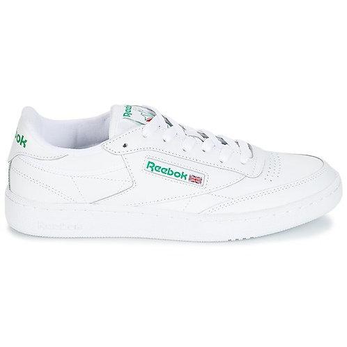 REEBOK CLASSIC - Sneakers CLUB C 85 - Bianco/Verde