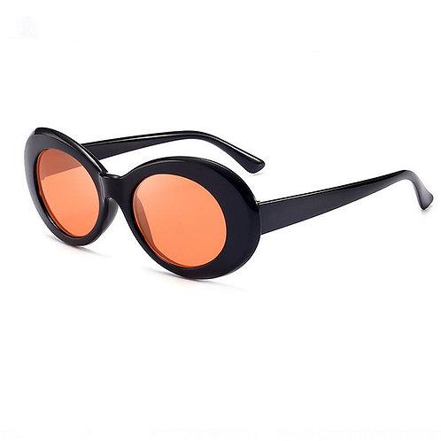 Occhiali da sole KURT nero arancio unisex urban loop