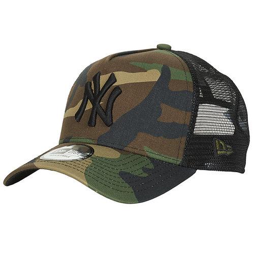 NEW ERA - CLEAN TRUCKER NEW YORK YANKEES - Camouflage / Kaki