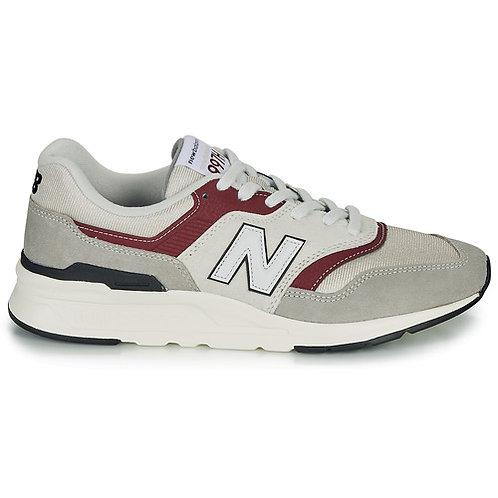 NEW BALANCE - 997H - Sneakers bianco / grigio / bordeaux