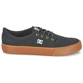 DC SHOES - Scarpe TRASE TX - Nero / Dore suola gomma sneakers uomo skate surf urban loop