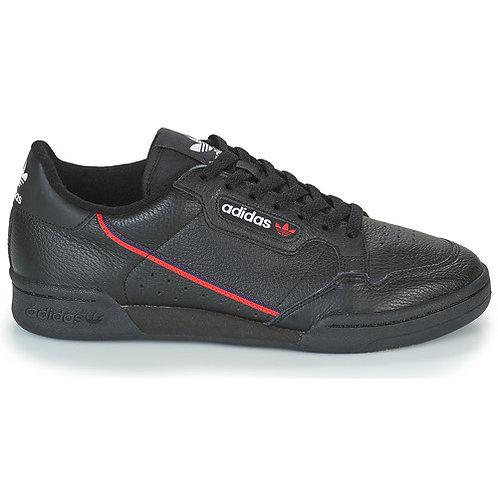ADIDAS ORIGINALS - Sneakers CONTINENTAL 80 - Nero scarpe uomo donna collezione prezzi bassi moda tendenza urban loop