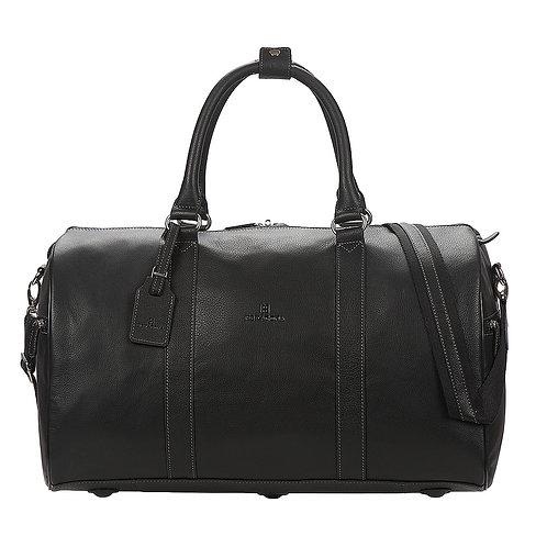 Borsone uomo viaggio HEXAGONA CONFORT VOYAGE - Nero PELLE cuoio travel bag borsa grande uomo donna urban loop