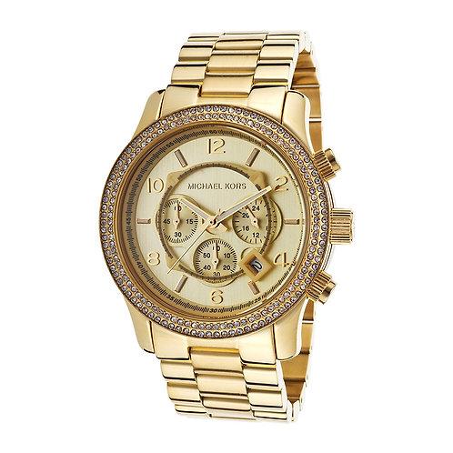 MICHAEL KORS MK5575 - Orologio donna in acciaio dorato orologi urban loop