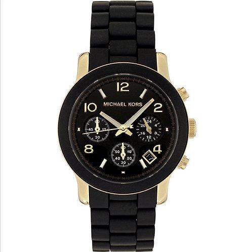 Michael Kors MK5191 - Orologio donna nero/oro con cronografo orologi donne 2017 2018 urban loop