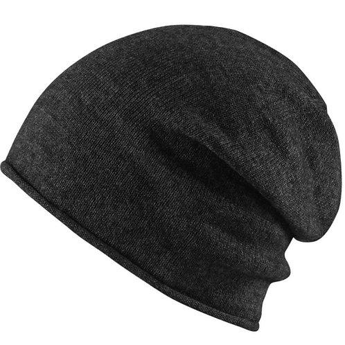 berretto cappello unisex uomo donna viscosa inverno invernale cappello cuffia beanie nero sconti urban loop 2017 2018