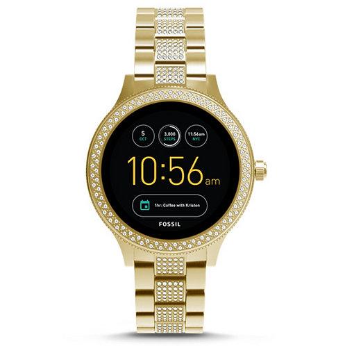 FOSSIL - Smartwatch donna FWT6001P digitale in acciaio sport palestra dorato fitness urban loop
