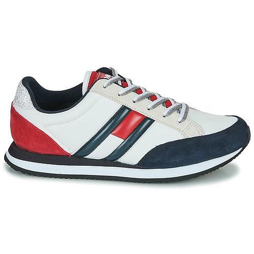 TOMMY JEANS - Casual Retro Sneaker - Scarpe rétro con bandiera