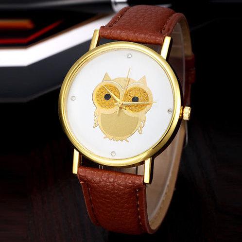 Orologio donna OWL gufo design vintage particolari colorati urban loop orologi lowcost prezzi bassi