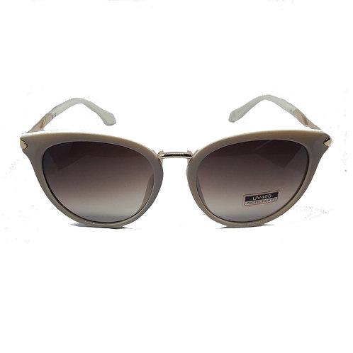 Occhiali da sole donna vintage retrò CAT EYE bianco avorio panna 2018 urban loop sunglasses