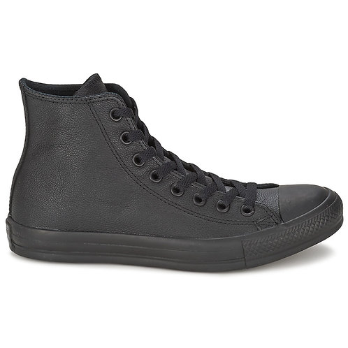 CONVERSE -  Sneakers stivaletti CHUCK TAYLOR ALL STAR MONO HI - Nero pelle nere urban loop