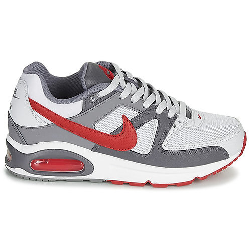 NIKE - Sneakers AIR MAX COMMAND - Grigio / Rosso