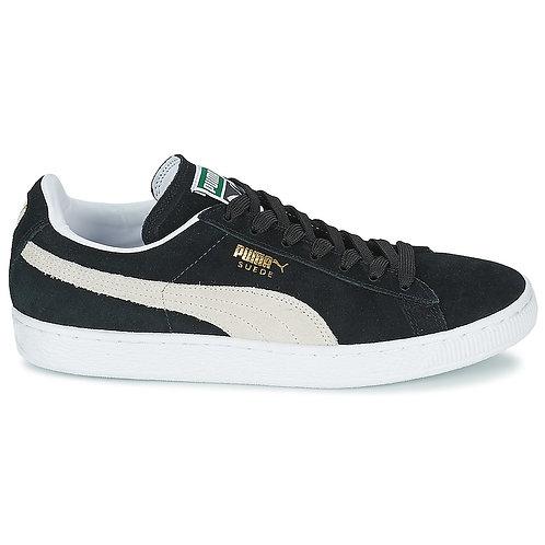 PUMA - Sneakers SUEDE CLASSIC - Nero / Bianco scarpe uomo donna moda urban loop