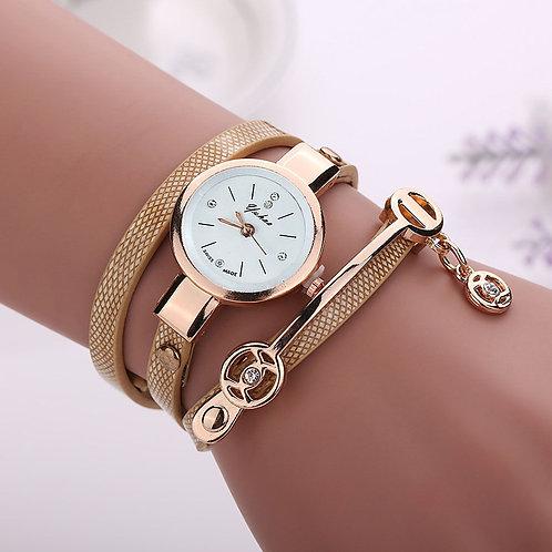 orologio donna polso bracciale braccialetto cinturino oro dorato vintage retrò fashion estate 2018 urban loop