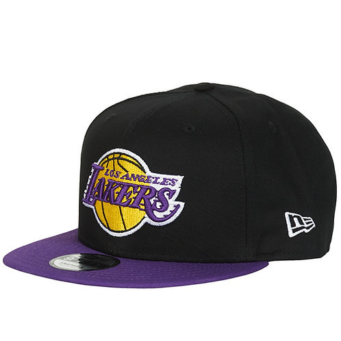 NEW ERA - NBA 9FIFTY LOS ANGELES LAKERS - Cappello Nero / Viola