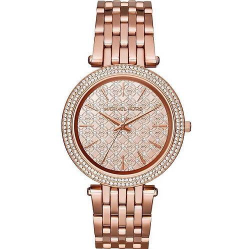MICHAEL KORS MK3399 - Orologi donna in acciaio oro/rosa orologi urban loop