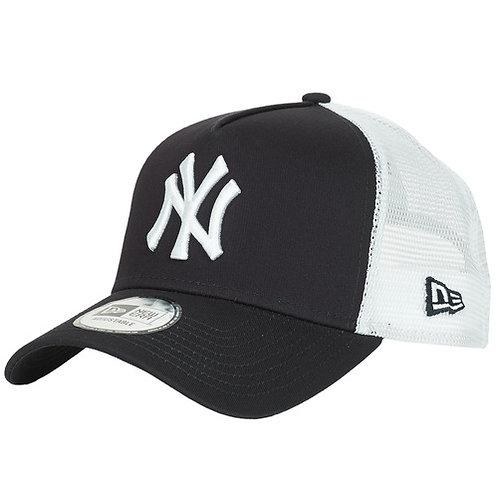 NEW ERA - CLEAN TRUCKER NEW YORK YANKEES - Cappello Marine / Bianco