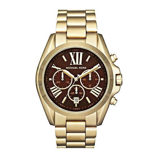 Michael Kors MK5502 - Orologio unisex in acciaio oro con cronografo uomo donna dorato orologi urban loop 2017 2018