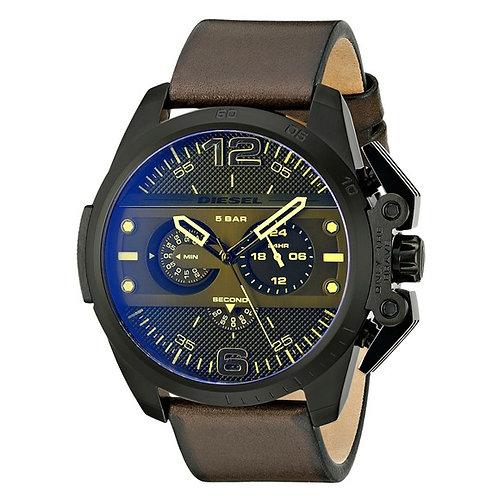 DZ4364 DIESEL - Orologio uomo in acciaio con quadrante multicolore acciaio cinturino marrone orologi urban loop