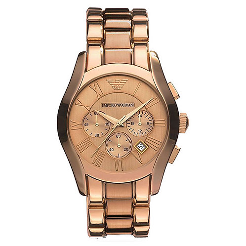 OROLOGIO AR0365 UOMO EMPORIO ARMANI - In acciaio rosa gold orologi uomo oro dorato urban loop