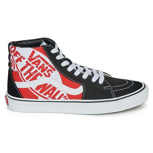 VANS - SK8-HI - Sneakers alte nere e rosse