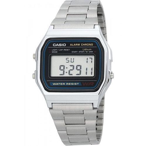 CASIO - Orologio uomo RETRO VINTAGE A158WA-1D orologi lowcost prezzi bassi urban loop
