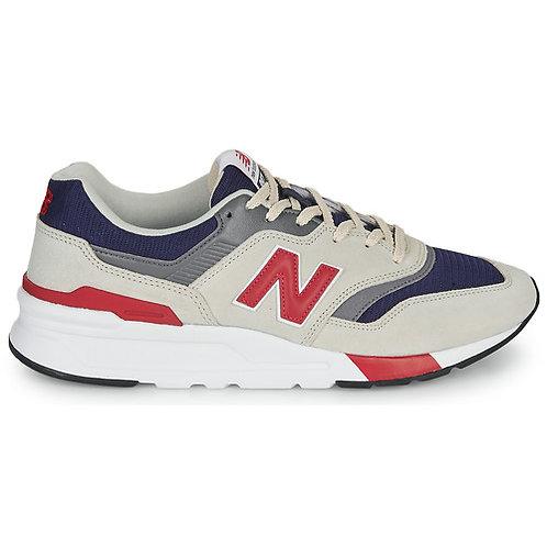 NEW BALANCE - 997H - Sneakers Grigio / Blu / Rosso