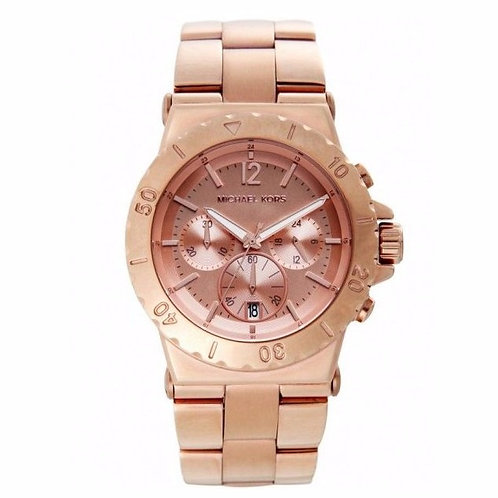 MICHAEL KORS MK5314 - Orologio donna in acciaio rosa orologi urban loop