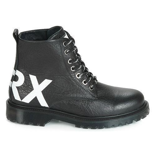 BRONX - Rifka chunky - Stivaletti neri stringati con logo
