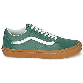 58f0e6f76 VANS Old Skool - Verde fondo gomma marrone sneakers uomo donna scarpe da  ginnastica skate surf
