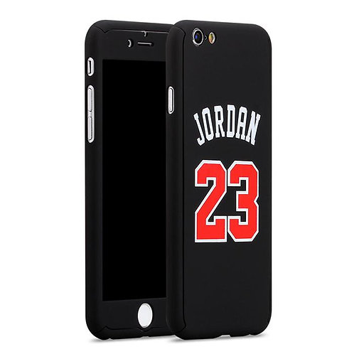 cover custodia jordan 23 iphone 6 6s plus 7 basket nba pallacanestro bulls nera urban loop