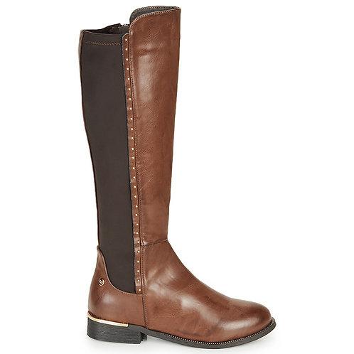 XTI - Marcia - Stivali in pelle sintetica - Marrone