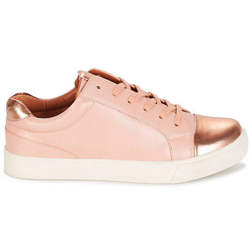 Sneakers donna ONLY SIRA SKYE - Rosa SCARPE ginnastica tela punta metallo urban loop