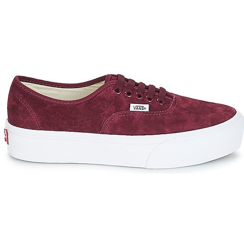 VANS - Sneakers AUTHENTIC PLATFORM 2.0 - Bordeaux donna scarpe sportive 2018 urban loop