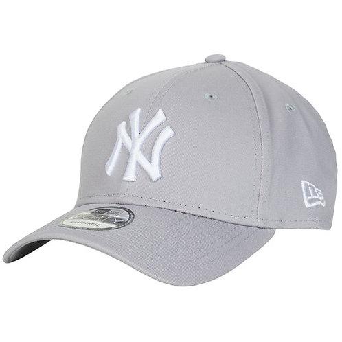 NEW ERA - LEAGUE BASIC 9FORTY NEW YORK YANKEES - Cappello Grigio / Bianco