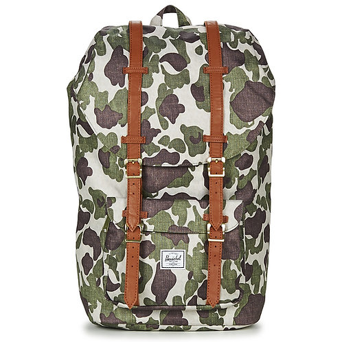 HERSCHEL - Zaino LITTLE AMERICA - Camo zaino backpack zaini uomo donna moda vintage urban loop