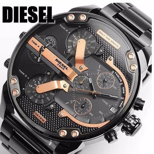 DZ7312 DIESEL - Orologio uomo in acciaio con cronografo orologi urban loop