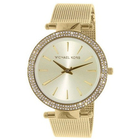 Michael Kors Darci MK3368 - Orologio donna in acciaio dorato con brillantini orologi urban loop