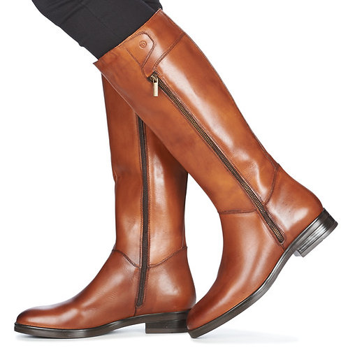 BETTY LONDON - Janka - Stivali in cuoio con zip laterale +Colori