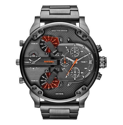 DZ7315 DIESEL - Orologio uomo in acciaio grigio e cronografo orologi urban loop scontati sconti