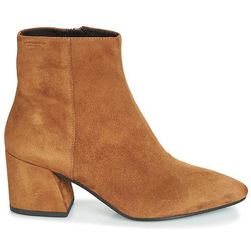 VAGABOND - Olivia - Stivaletti alla caviglia marroni cammello