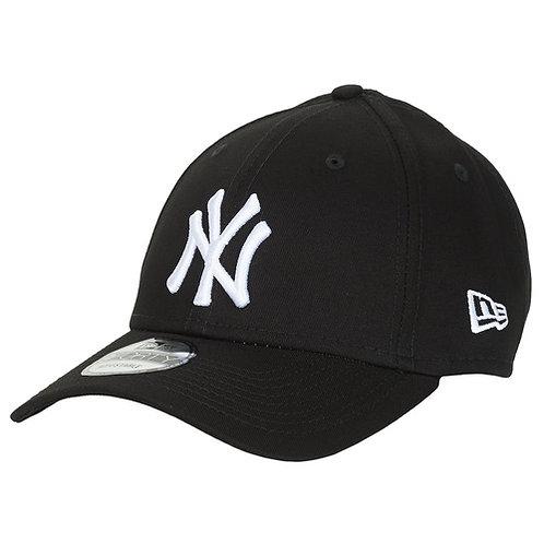 NEW ERA - LEAGUE BASIC 9FORTY NEW YORK YANKEES - Cappello Nero / Bianco
