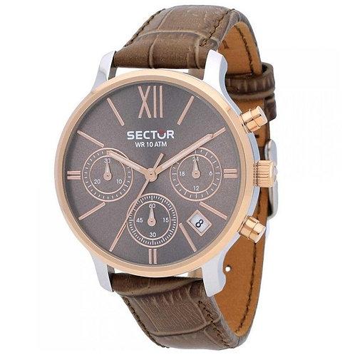 SECTOR - Orologio uomo R3271693501 orologi lowcost prezzi bassi urban loop marrone