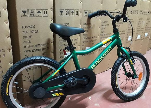 """אופני 16"""" ירוקות"""