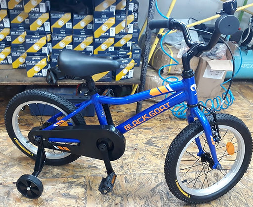 """אופני 16"""" כחולות"""