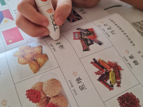 CALHK School Visit: Chiu Sheung School is using digi-pens to provide audio & support Chinese